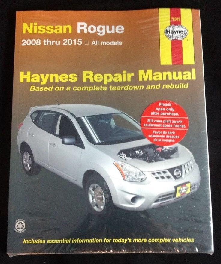 Nissan Rogue Haynes Repair Manual 2008 - 2015 New Sealed Book | eBay Motors, Parts & Accessories, Manuals & Literature | eBay!