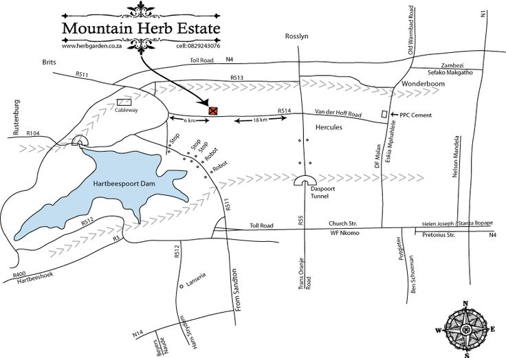 Mountain Herb Estate - How to find us