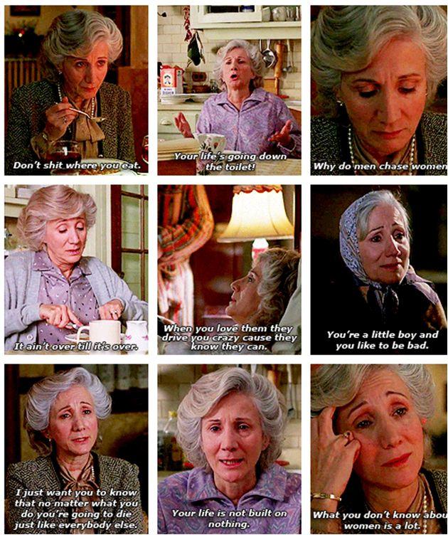 Rose Castorini Quotes ~ Moonstruck (1989) ~ Movie Quotes #amusementphile
