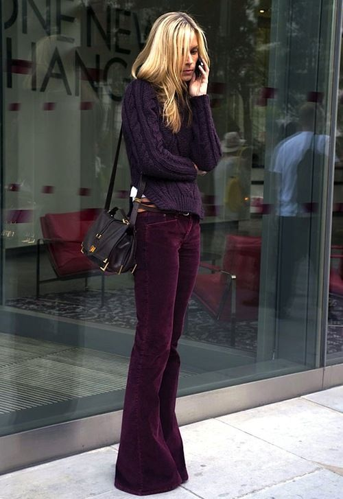 I think some rich, dark colors would flatter your skin/hair color. And Im in love with these pants.