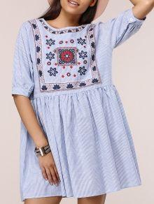 Plus Size vestito etnico