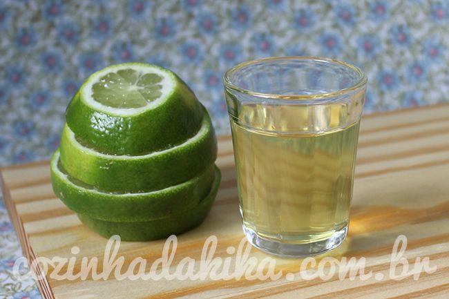 Licor de limão taiti