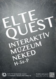 Kristóf Kebuszek - Elte Quest Plakát
