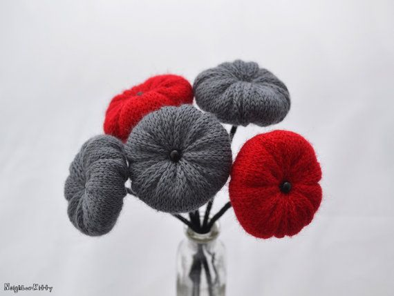 Red and grey by Chiara Cantamessa on Etsy