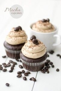 Mocha Cupcakes Recipe. The perfect cupcake for coffee lovers ... with a good dose of Kahula. Best mocha cupcake recipes.