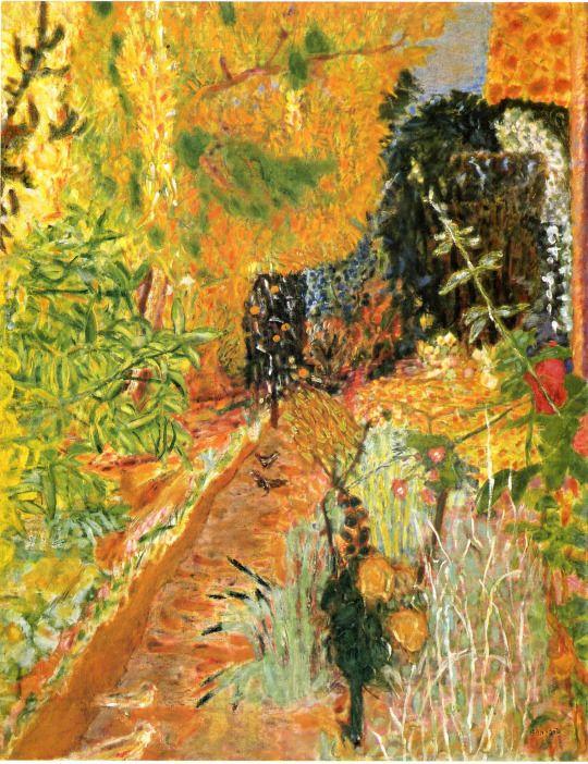 The Garden, Pierre Bonnard