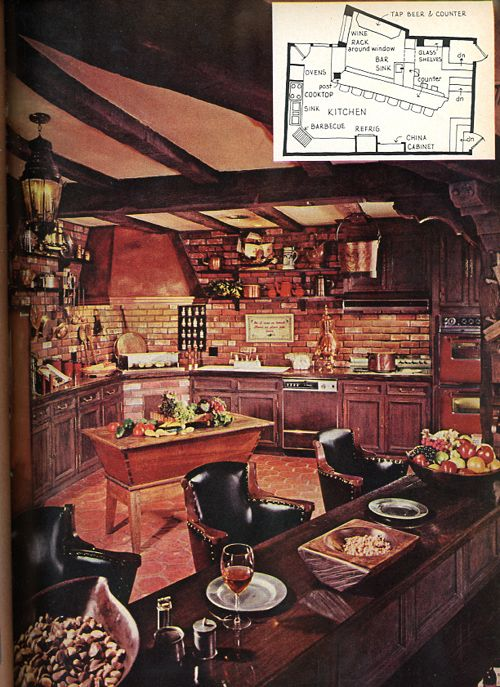 13 Cases Of Quintessentially Strange 1970s Kitchen Design