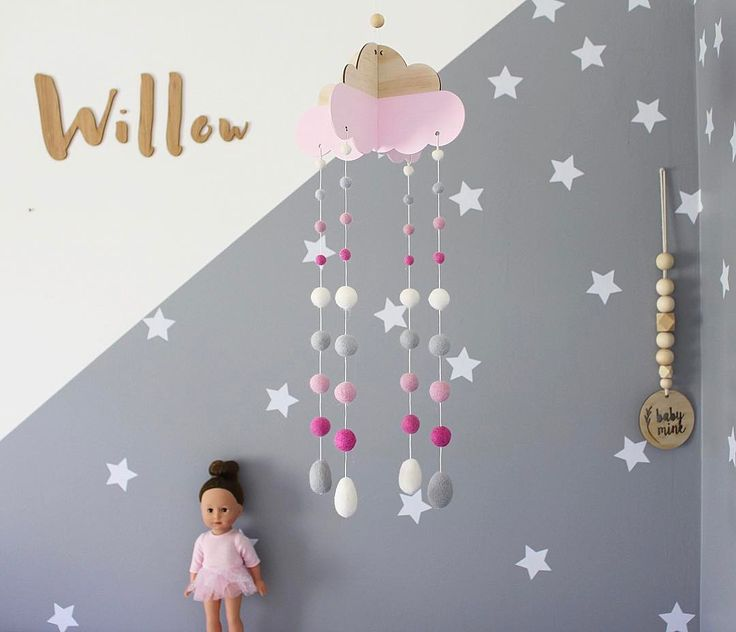BABY MOBILE Did you know our new Head In The Clouds mobile comes with 100% guarantee to mesmerise your little one to sleep for every nap? Ok not really but it WILL distract them as you ninja roll out of their rooms before they catch you  These gorgeous mobiles are our collab with babe town @_shartruese - more to come!