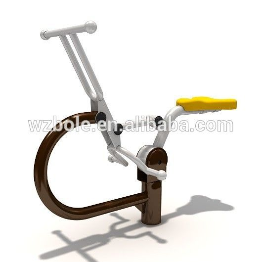Source China manufacturer machine exercise outdoor gym equipment amusement rider on m.alibaba.com