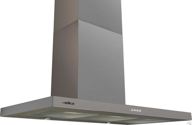 "Elica ETB430S1 30"" Wall Mount Chimney Hood with 400 CFM Internal Blower, 3 Blower Speeds, Halogen Lamps, Stainless Steel Push Button Controls and Anodized Aluminum Mesh Filter"