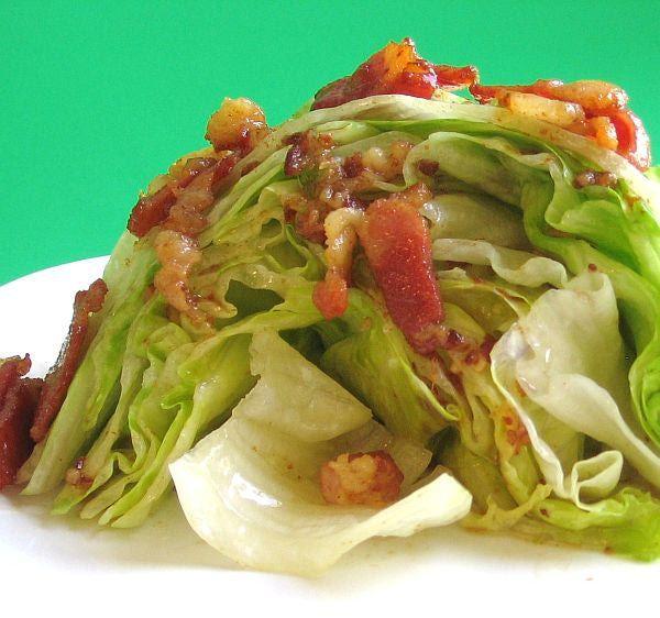 Hungarian Wilted Lettuce Salad Recipe - Recipe for Hungarian Wilted Lettuce Salad or Forrazott Salata