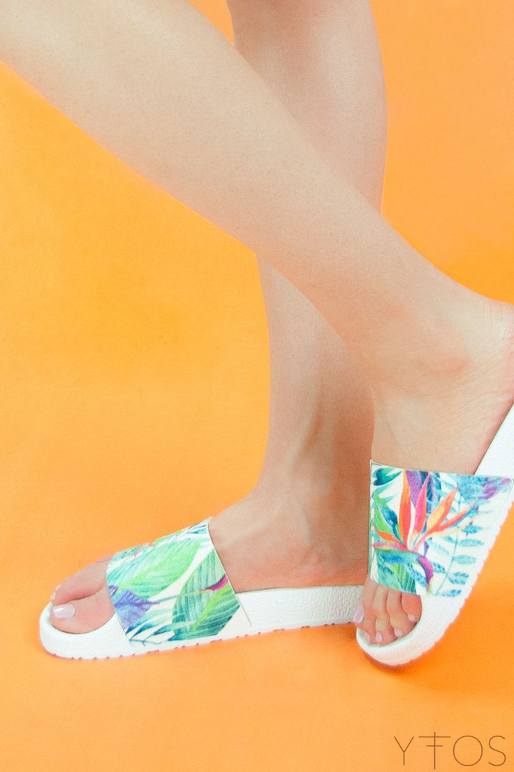Yfos Online Shop | Shoes | Birds Of Paradise Slider Sandals by Pareoo