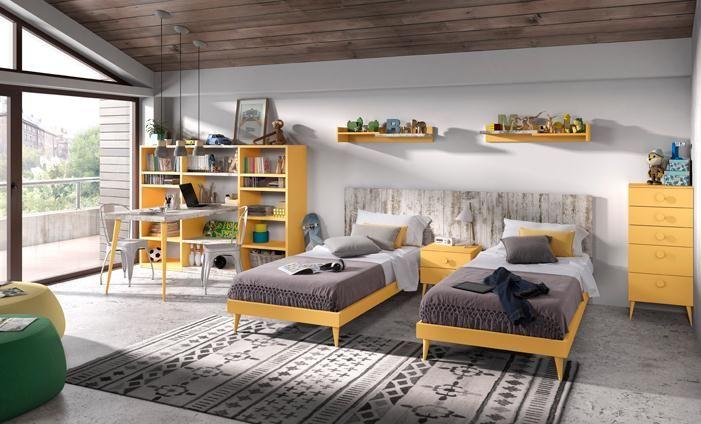 179 best dormitorios para ni os y j venes images on - Muebles juveniles kibuc ...