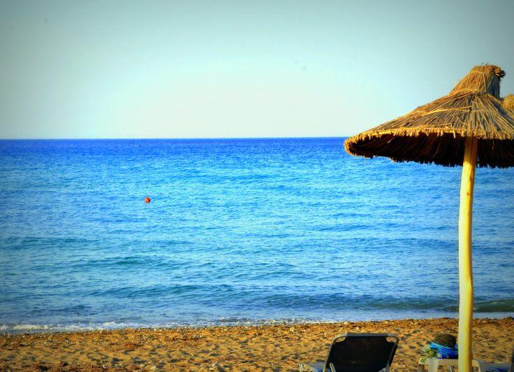 Ammoudara beach!