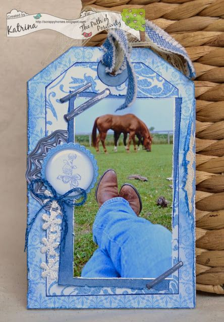 ScrappyHorses: Forever in Blue Jeans!, Blues, Tag, Decosse's Dynamite Doodles, Country, Naturally Cool, Path of Positivity