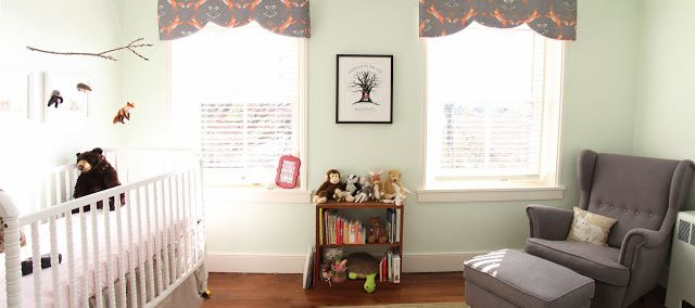 Grosgrain: Woodland Themed Nursery: Felted Mobile
