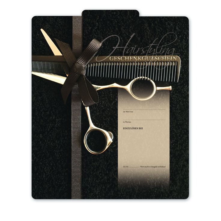 Geschenkgutschein für Friseure K292