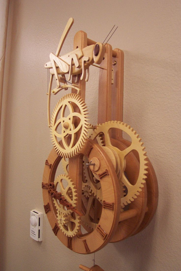 46 Best Images About Wooden Gear Clocks On Pinterest