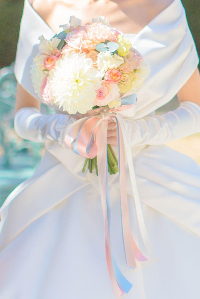 【ウェディングブーケ】ブーケから繋がる幸せ の画像|岡本静香のオフィシャルブログ「静香のメイク日記」Powered by Ameba