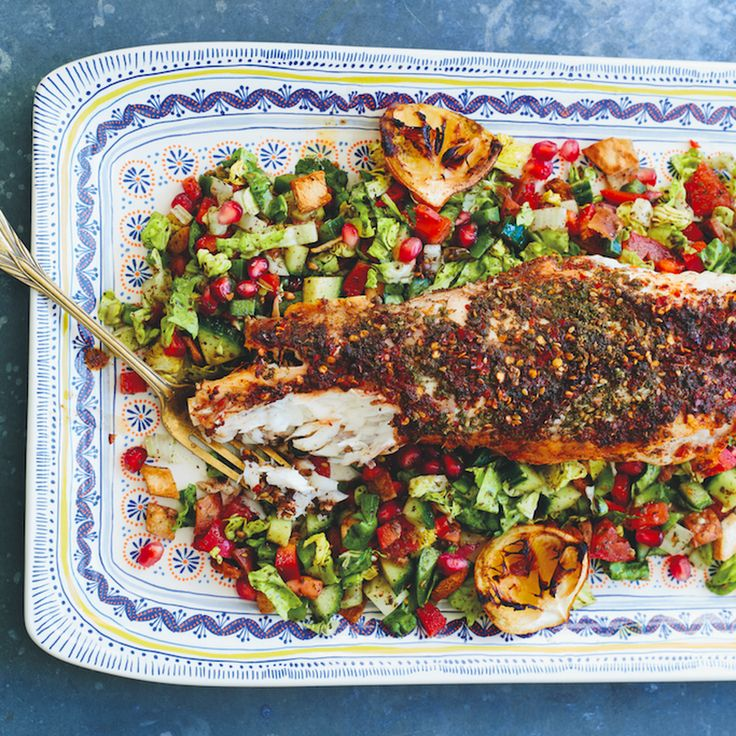 Sumac & Za'atar Roasted Monkfish Recipe on Food52 recipe on Food52