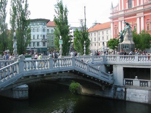 Puente Triple  Liubliana, la dinámica capital de Eslovenia