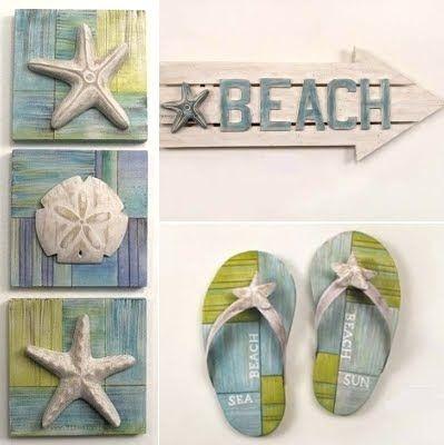 cute beach house decor