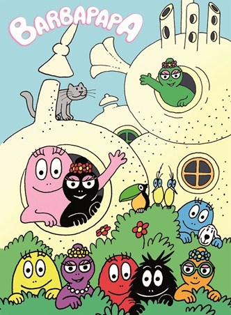 Barbapapa - I loved their house!