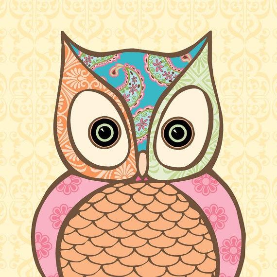 Owl Wooden Wall Art