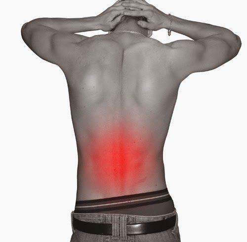 DOLOR DE ESPALDA: PARTE BAJA RELACIÓN EMOCIONAL (Lumbares)   Frecuentemente confundida con los riñones y comúnmente asociada al dolo...