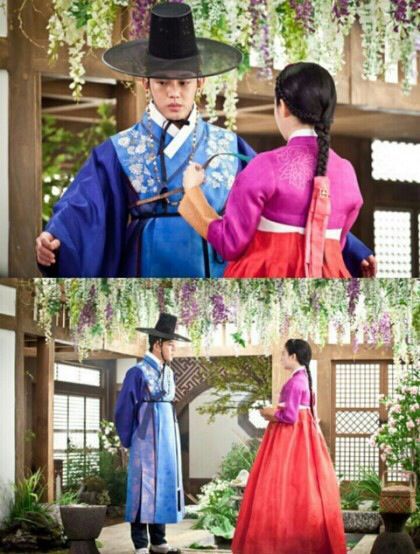 K drama Jang Ok-jung Living in Love.