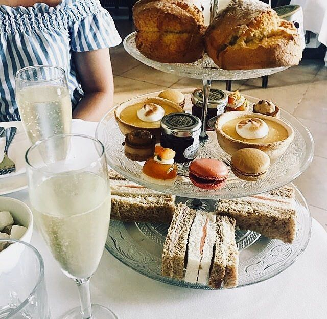 Country House Traditional Afternoon Tea. Served inside the house every Saturday and Sunday from 3pm. Booking advised 01273 680400. A special treat a celebration or just because? #afternoontea #hightea #sconesandjam #macaroons #chocolateeclair #champagne #prosecco #countryhouse #stanmerhouse #teafortwo
