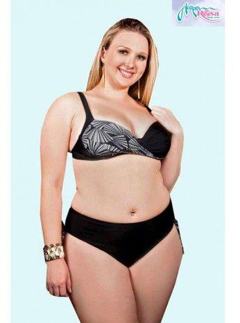 Plus Size Acqua Rosa Brazilian Bikini