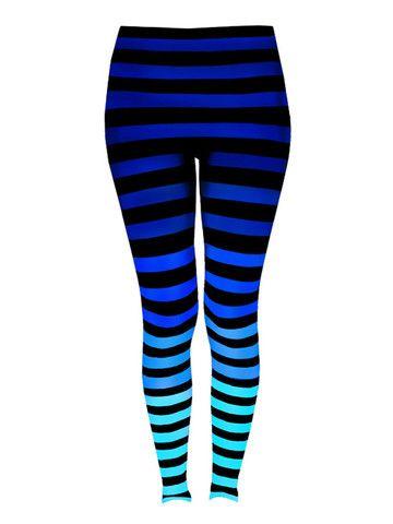 Leggings in 'Alexis Stripe' | K-DEER