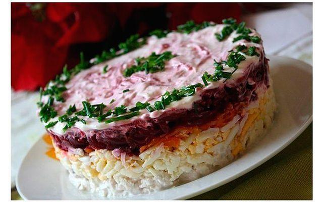 Рецепты салатов с фото из красной фасоли