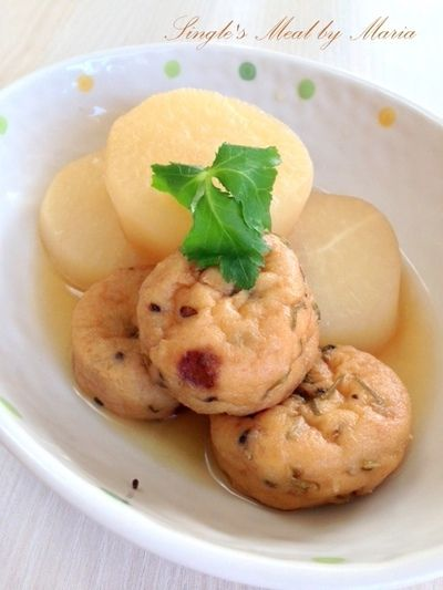 大根とがんもどきの煮物 by mariaさん | レシピブログ - 料理ブログの ...
