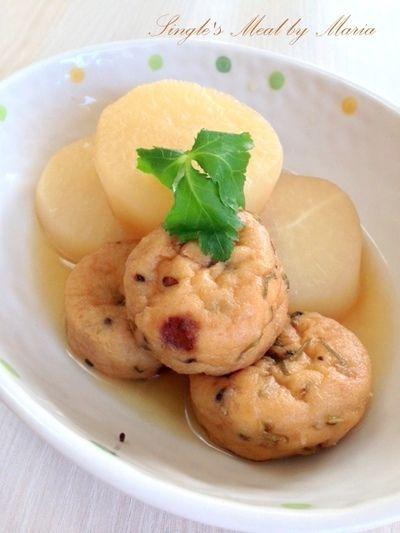 大根とがんもどきの煮物 by mariaさん   レシピブログ - 料理ブログの ...