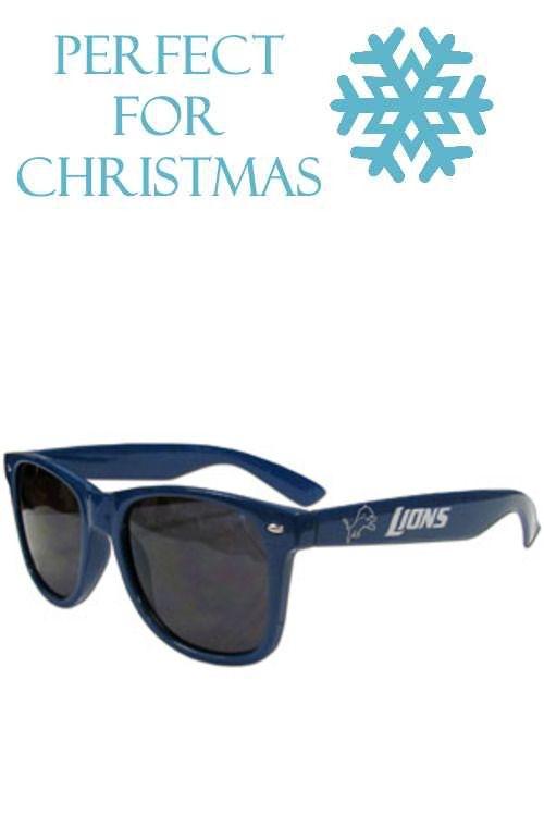 81b6a8dcbb16 These NFL Detroit Lions Beachfarer Sunglasses feature the Detroit Lions  logo and Detroit Lions name silk