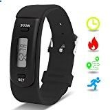 Activity Bracelets Fitness - Kids Fitness Tracker with Pedometer, Willful Fitness Activity Tracker Watch Step Counter Wristband Smart Bracelet Bands for Walking Kids ( Pedometers, Calories, Distance, Sleep Monitor ) Non Bluetooth, Non APP (Black) - www.trolleytrends... - The benefits of wearing these smart bracelets are not only in your comfort, but also in that they are able to control all your physical progress