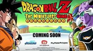 Dragon Ball Z Board Game Miniature is coming soon