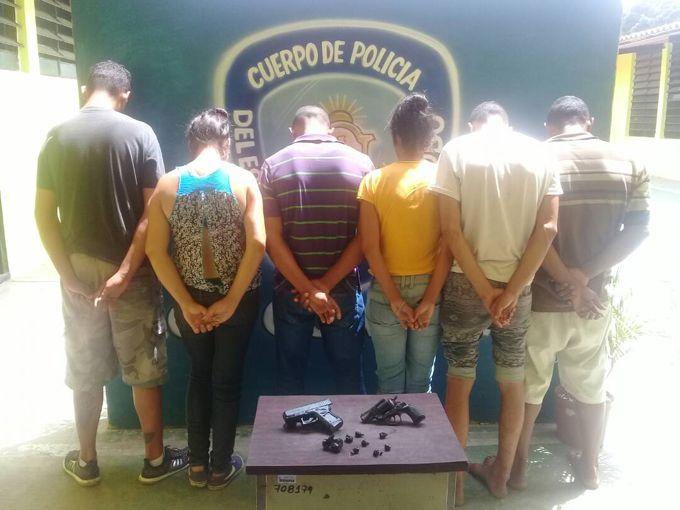 """PoliCarabobo desarticuló banda """"Los Distribuidores del Limón"""""""