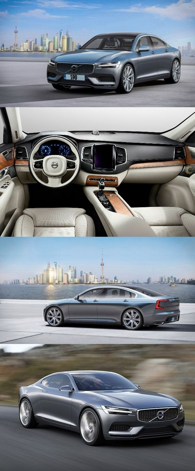 Volvo has introduced the S90 luxury sedan it will be launched in India by Q4, 2016