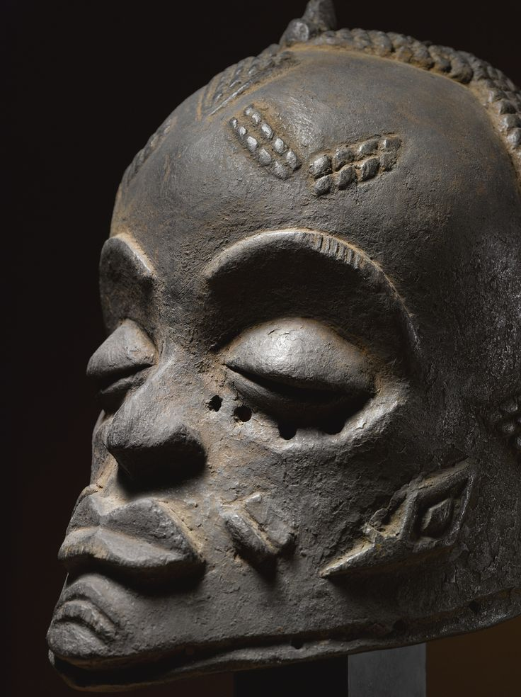 Luluwa Helmet Mask, Democratic Republic of the Congo   lot   Sotheby's ex Werner Munsterberger