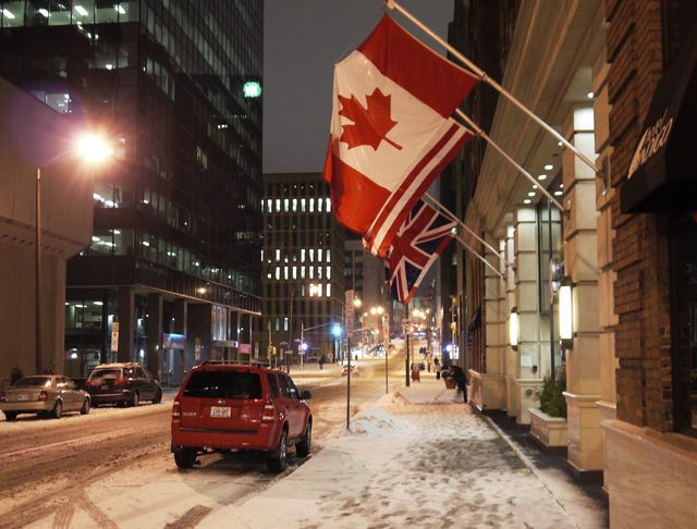 Ottawa in the depths of the winter - 145 Weird, Fun and Interesting Facts About Canada