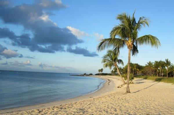 Sombrero Beach in Marathon, Florida Keys.