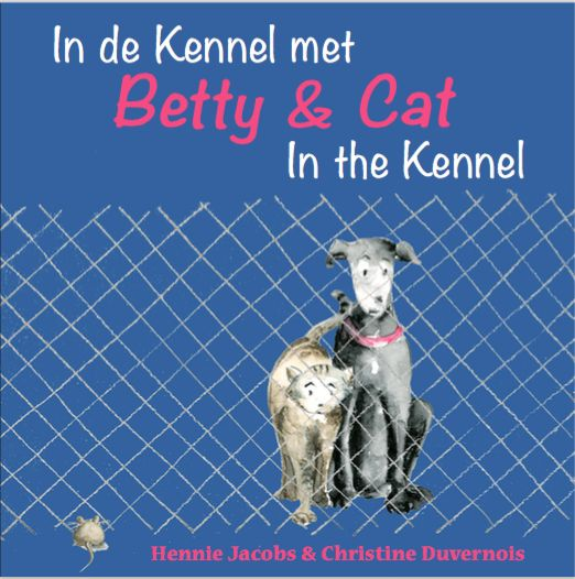Cover of second in the Betty & Cat Dutch/English series.  These books are NOT translated, because I believe kids can cope very well without!