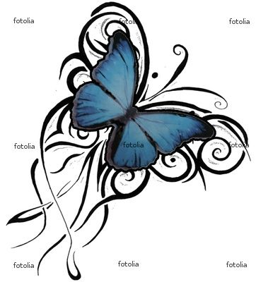 Celtic Butterfly Tattoos on Butterfly Tattoos Designs Part 12