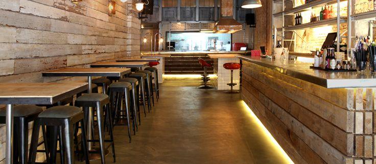 Mejores 37 im genes de restaurantes cool en pinterest - Cousi interiorismo ...