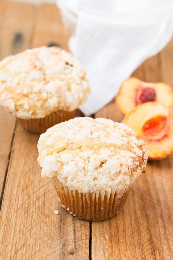 Check out Peaches n Cream Crumb Muffins. It's so easy to ...