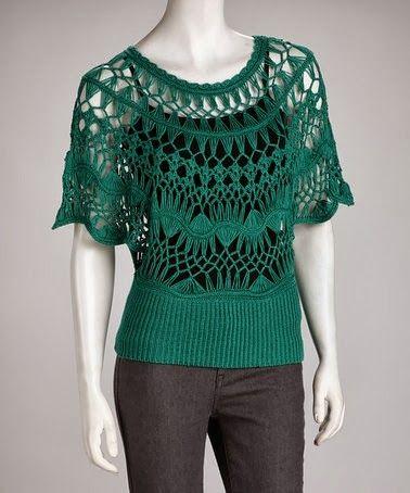 Anne Croche * Moda Artesanal *: CROCHE DE GRAMPO 2 INSPIRAÇÕES