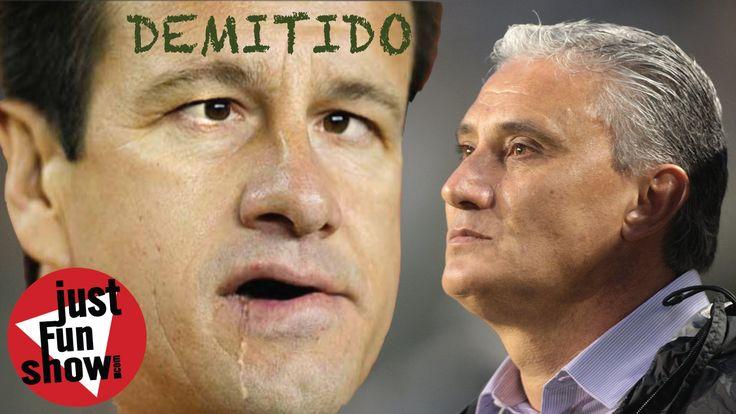 Dunga demitido, seleção brasileira, CBF, escolhe novo tecnico, Tite, d...